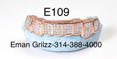 10kt Invisible diamond set