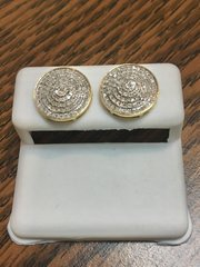 10KT Yellow Gold 0.48 CT Diamond Earring