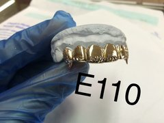 6 teethE110 white diamond cuts