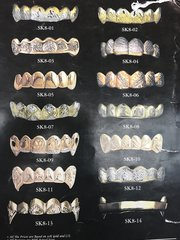 Gold Teeth Book pick a style