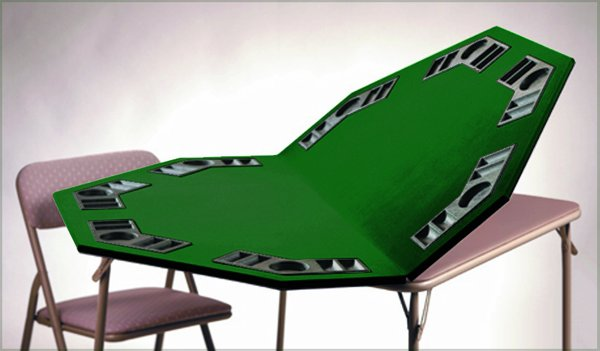 Poker Table Top | Card Table Extender | Table Pad Extender