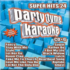 Party Tyme Karaoke Super Hits 24 Syb-1124