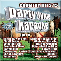 Party Tyme Country Hits 15 Syb-1121