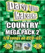 Party Tyme Country Karaoke Mega Pack Syb-4464