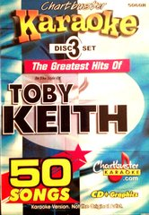 Toby Keith Chartbuster 50 Song Pack Cb5060R