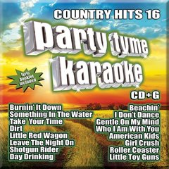Party Tyme Country Karaoke Hits 16 Syb-1123