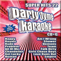 Party Tyme Karaoke Super Hits 22 Syb-1120