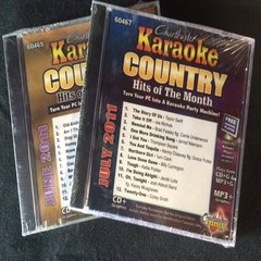 Chartbuster Grab Bag Country Hits Brand New 2 Disc Cb-2C