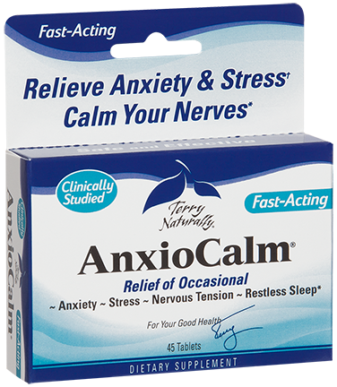 Anxiocalm, Terry Naturally, EuroPharma