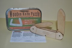 Knife Puzzle, Wood