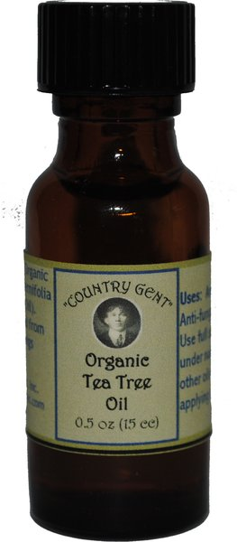 Tea Tree Oil, Organic, 1/2 oz