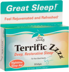 Terrific ZZZZ 30 Softgel Terry Naturally