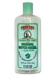Witch Hazel Toner, Original - Alcohol-Free