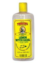 Witch Hazel, Lemon .