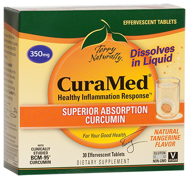 CuraMed® Effervescent Tablets (350 mg)