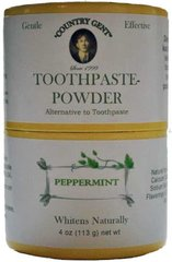 """Country Gent"" Tube Tooth Powder, 4 oz"