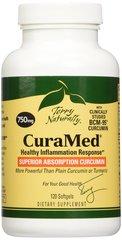 CuraMed BCM-95 Curcumin, 750 mg, 120 Softgels