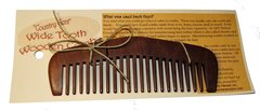 Wood Comb, Wide Tooth