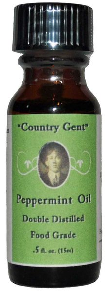 Peppermint Oil, Food Grade, 1/2 oz