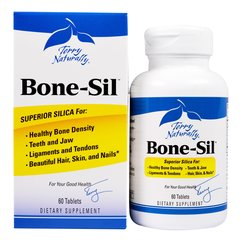 Bone-Sil (Silica) Terry Naturally, 60 Tablets