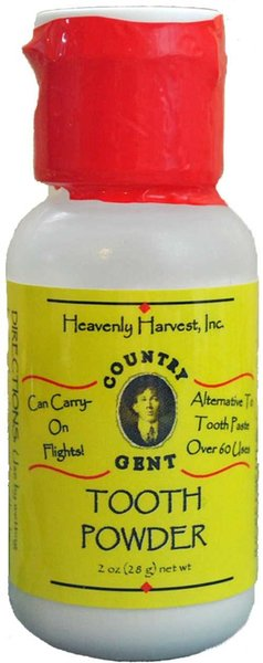 Country Gent Tooth Powder, 1 oz, Travel Size