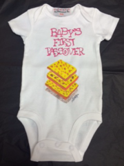 Hand Painted Onesies For Passover Custom Design and Personalization available