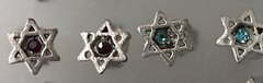 Earrings Studs Star of David Size: 1/4""