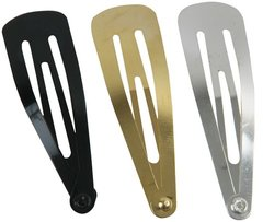 Kippah Clip Package Of 12, Available In Silver, Gold or Black