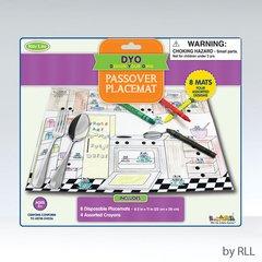 Color Your Own Chanukah Placemats