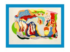 """Le Mariage"" Serigraph by Lydie Egosi"