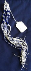 Tzitzit Braided w/Blue Thread