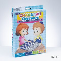 Chanukah Checkers - A Chanukah Twist on the Classic Game