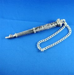Torah Pointer Pewter Finish 6.75 Inches Long, Made In Israel