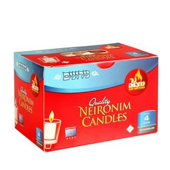 Neronim (Nerionim) Deluxe Candles Burns 4 Hours, Box Of 72