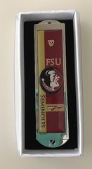 "Mezuzah Case ""FSU"" Enamel 4"" Long"