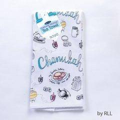 """Tea Towel """"Chanukah Musings"""""""