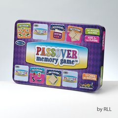"PASSOVER ""MEMORY"" GAME, 7"" x 5"", 72 CARDS, COLLECTIBLE TIN"