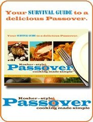 Kosher-Style Passover Cooking Made Simple;PB