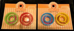 Mini Doughnut Cutters - Assorted colors - 2/Pack