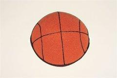 Kippah Crochet Basketball Design Medium, Made In Israel