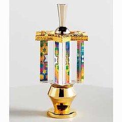 The New Jerusalem Dreidel w/Stand - Original Art , Made in Jerusalem