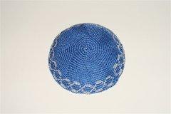 Kippah Hand Crochet Medium Size Assorted Colors And Designs