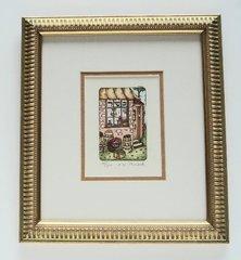 """""""Kosher Store"""" Framed by Muchnik"""