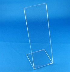 Lucite Stand Clear or Black For Mezuzahs, Perfect For Personalization