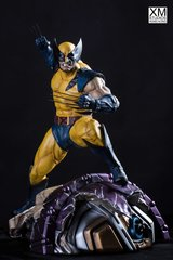 PREMIUM COLLECTIBLES: WOLVERINE (YELLOW) STATUE (COMICS VERSION) - Sold Out