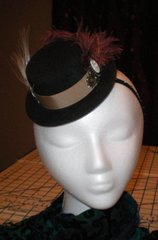 Steampunk Little Top Hat Fascinator
