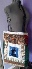 Belly Dancer Tote Bag, Cross Body, Tribal