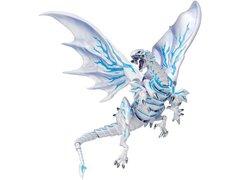 Yu-Gi-Oh! The Dark Side of Dimensions Vulcanlog Figure - Blue-Eyes Alternative White Dragon Shipping Included