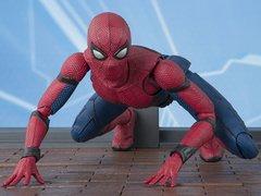 Spider-Man: Homecoming S.H.Figuarts Spider-Man & Tamashii Option Act Wall Set