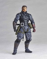 Revoltech Union Creative Vulcanlog Venom Snake Sneaking Suit Action Figure